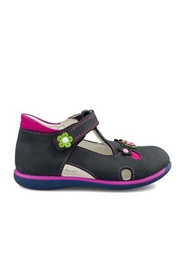 Cicibebe Kız Çocuk Sandalet Lacivert